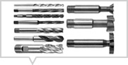 Cutting Tools (HSS, Drill/ End Mills/ Slot Drills/ Woodruff, etc.) (หมวดดอกกัดไฮสปีด)